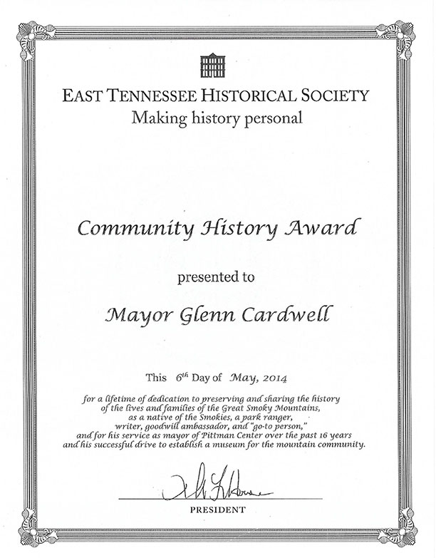 community-history-award-glen-cardwell