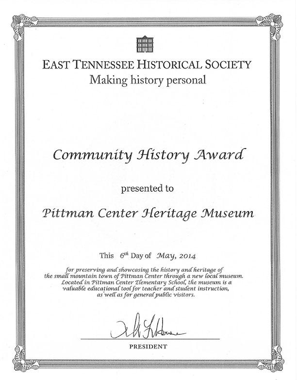 community-history-award-heritage-museum